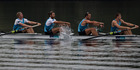 New Zealand Rowing Men's Coxless Four, (L-R) Anthony Allen, Patrick McInnes, Axel Dickinson and Drikus Conradie, will miss Rio after the Russian four are not banned. Photo / Brett Phibbs