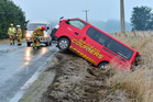 Black ice on the roads is causing trouble for motorists. Photo / Otago Daily Times