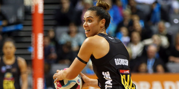 SEASON ENDING: Magic's Grace Rasmussen competed well in a losing cause against NSW Swifts in Monday night's semifinal. Photo/FILE 100716sp18BOP.