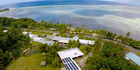 The Breitz family, owners and residents of the Nautilus resort on Kosrae Island in Micronesia, put their island paradise up for raffle. Photo / Facebook