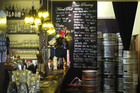 Little Beer Quarter prides itself on being Wellington's 'beer geek heaven' with its 14 rotating taps and 100+ beers in the fridge.