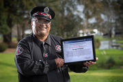 George Te Kotahi, a Maori Warden has received an award from NZ Police for helping a man who was shot at Papakura train station in March. Photo / Nick Reed