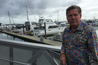 Rod Limbrick, owner of Billfish Cafe Westhaven is unhappy about liquor licensing laws. Photo / Kirsty Wynn