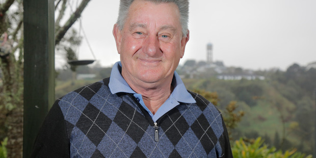 Alan Abbott who is standing for Whanganui District Council. Sunday, July 24, 2016 Wanganui Chronicle photograph by Bevan Conley.