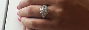 Heartbreak after $15k ring 'stolen'