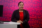 Nawiki Ashby Te Nahu is the new iwi cadet at Westpac.  PHOTO/STEPHEN PARKER