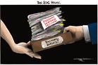 Cartoon: The IOC relay