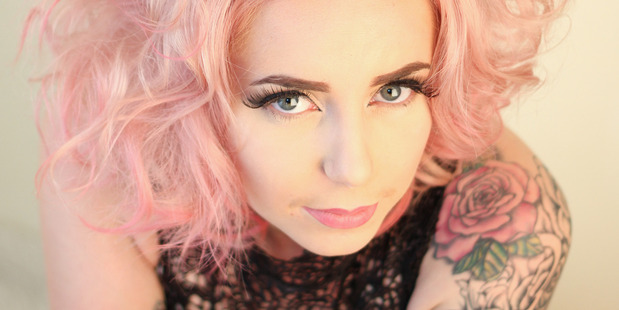 Third place entry in the Lust Semi-Permanent Colour Photographic Competition. Hair by Ebony MacKenze, Photo/ Nicci Forlong.