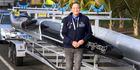 RIVER CALLING: Howard Hyland has returned home to launch a new waka ama club, the Whanganui Outrigger Canoe Club.
