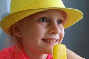 Bittersweet fundraiser for little girl with cancer