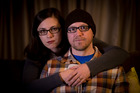 Leanne Watson and her fiance, Mark Rogers. Picture / Dean Purcell