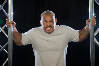 UFC Heavyweight fighter, Mark Hunt photographed in the Herald video studio on on Friday. 29 July 206. New Zealand Herald photograph by Nick Reed.