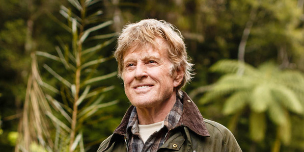 Robert Redford in Pete's Dragon. PHOTO/TOURISM NEW ZEALAND