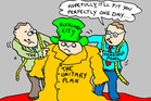 Cartoon: Unitary Plan will fit the City
