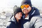 Tipiwai Stainton, right, and partner Ana-Lee Hemopo. Photo / via Facebook