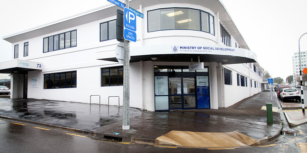 Tauranga's Work and Income NZ building on Durham St was closed after a threat was made to staff. Photo/Andrew Warner