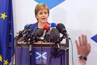 Scotland's First Minister Nicola Sturgeon. Photo / AP