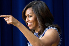 First lady Michelle Obama will be speaking at the Democratic National Convention today. Photo / AP