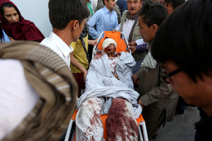 Latest Isis attack in Afghanistan leaves 80 dead