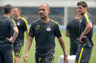 New Manchester City manager Pep Guardiola is showing no mercy. Photo / Getty Images