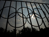 The Olympics rings are seen on a fence in front of the Russian Olympic Committee building in Moscow, Russia, Sunday, July 24, 2016. Photo / AP.