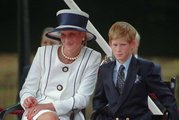 In 1995 Princess Diana, left, sits next to her younger son Prince Harry. Photo / AP