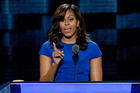Michelle Obama was considered one of the Democratic convention's standout speakers. Photo / AP