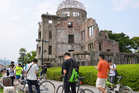 The Hiroshima Peace Memorial Park in Japan is among many cultural heritage sites around the world pleading to be removed from Pokemon Go. Photo / AP