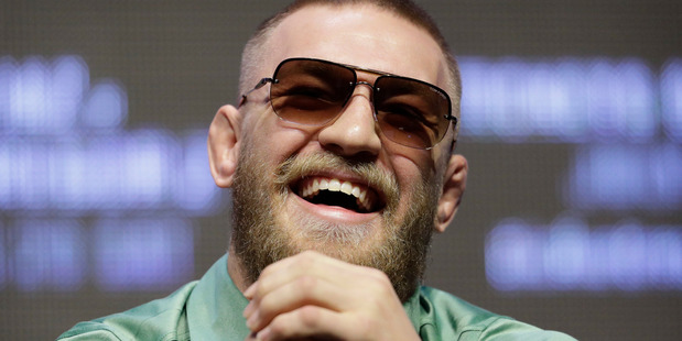 Conor McGregor along with Holly Holm are the most drug-tested athletes in the UFC. Photo / File