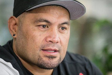Mark Hunt says he probably won't fight in the UFC again. Photo / Greg Bowker.