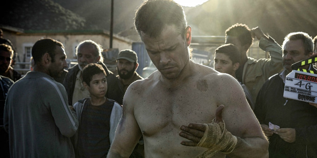 Bourne last seen swimming his way out of New York is spending his days beating up the tattooed thugs of Europe in bare-knuckled fights.