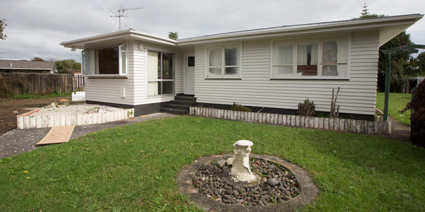 Loading This South Auckland house has been sold five times in nine months, for a capital gain of $255,000. Photo / Brett Phibbs.