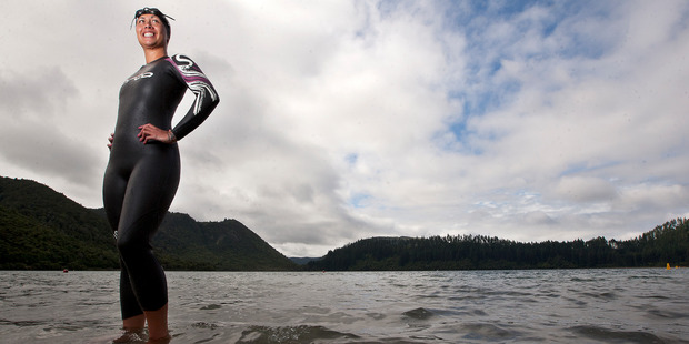 Mariana Morrison is heading over to Samoa to take part in the pacific open ocean swim. PHOTO/FILE