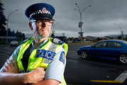 It's not just the elderly who are driving slowly, according to Sergeant Simon Betchetti.