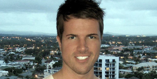 Gable Tostee April 2014 who is awaiting trial for the death of Kiwi Warriena Wright who plunged to her death from his high-rise Surfers Paradise apartment. Photo / Facebook