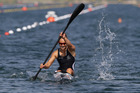Carrington is targeting two gold medals in the K1 200m and 500m. Photo / Brett Phibbs