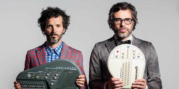 Flight of the Conchords Bret McKenzie and Jemaine Clement. Photo / Supplied