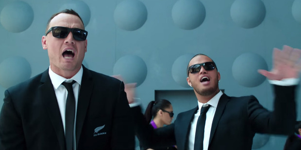 Anything is better than the tuneless rapping of Israel Dagg which blighted the last video.