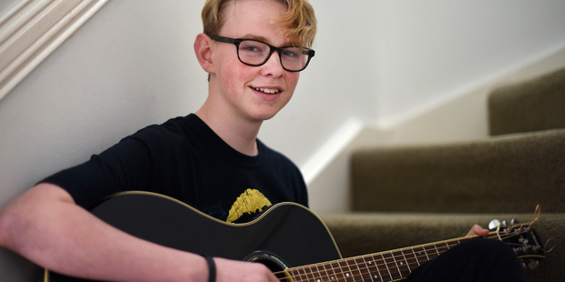 Ben Mollison, a guitar and harmonica-playing singer-songwriter from Bethlehem College, won first place in the solo section of the Smokefree Rockquest last year. Photo/George Novak