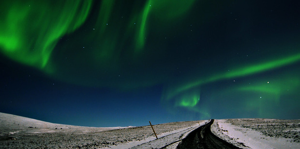 The Northern Lights, as seen from Iceland. Photo / Creative Commons
