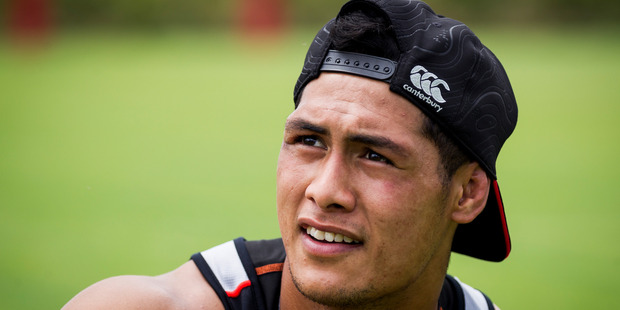 Loading Roger Tuivasa-Sheck has always talked about wanting to leave a legacy and he took the first small steps towards that yesterday.Photo/Dean Purcell.