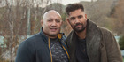 Former All Black Norm Hewitt and Hollywood actor Manu Bennett have made a documentary about bullying, making up and letting go of negative feelings.