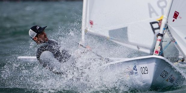 MEDAL PROSPECT: Sam Meech is a contender in the Laser class at Rio. PHOTO/FILE A_190914sp06bop