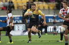 Hurricane's Captain Dane Coles leads from the front. Photo / Darren Taumata