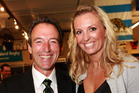 Graeme Hart and Gretchen Hawkesby. Photo / Norrie Montgomery