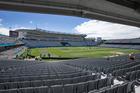 Eden Park before the New Zealand Black Caps and South Africa match. Photo / Brett Phibbs
