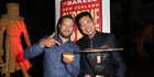 NZ Bakels Supreme Pie Awards at SkyCity. L to R. Mark Southon and Supreme Pie Winner, Patrick Lam. Photo / Norrie Montgomery