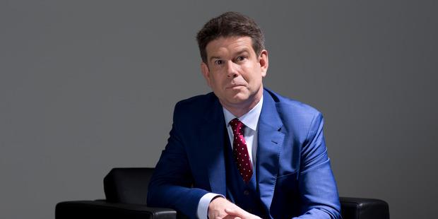 TV presenter and journalist John Campbell. Photo / Greg Bowker