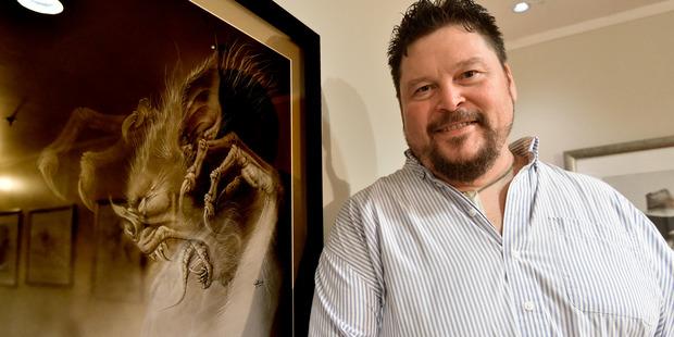 Gino Acevedo, the Weta Digital creative art director behind such films as Avatar and King Kong. Photo / George Novak