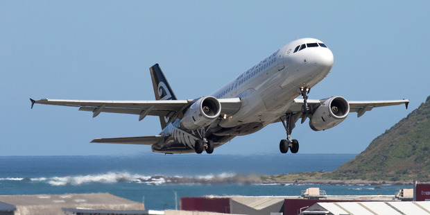 Air New Zealand was the biggest gainer on the index, rising 1.2 per cent. Photo / Mark Mitchell